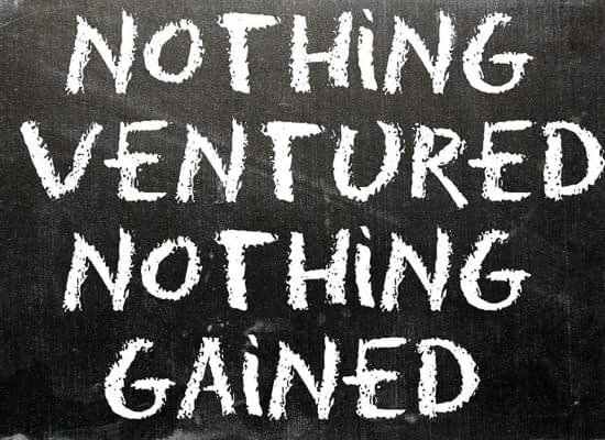 For-A-Small-Business,-Nothing-Ventured,-Nothing-Gained