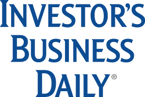 As Featured in Investor's Business Daily logo