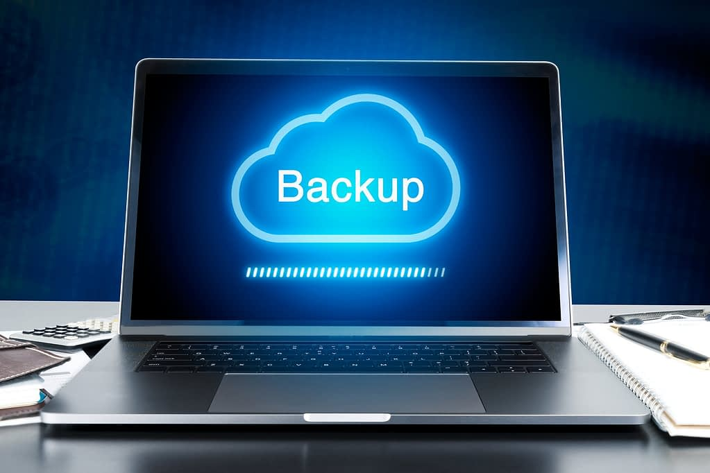 backup a wordpress site