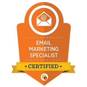 Digital Marketer Certified Email Marketing Specialist Badge